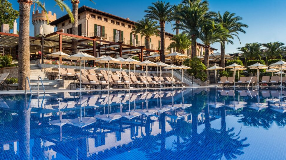 Castillo Hotel Son Vida, a Luxury Collection Hotel, Mallorca Pool View