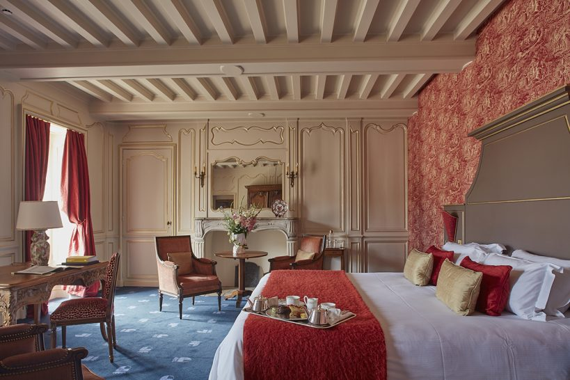 Chateau d'Audrieu Junior Suite