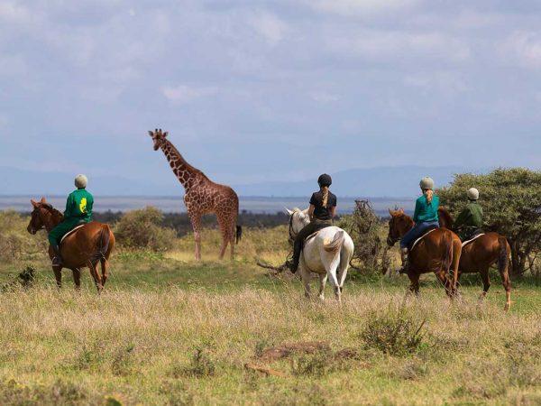 Elewana Loisaba Lodo Springs Horse Riding