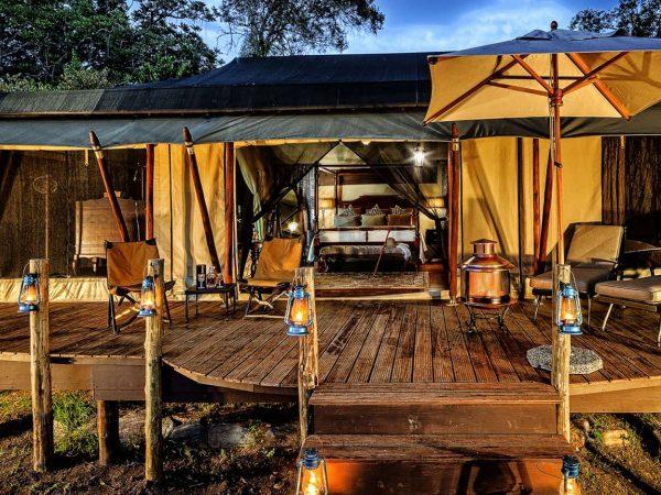 Elewana Sand River Masai Mara Camp Exterior View