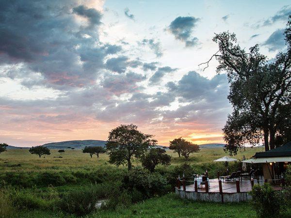 Elewana Sand River Masai Mara Camp View