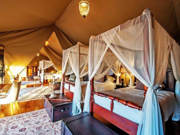 Elewana Sand River Masai Mara Family Tent