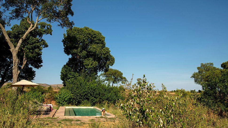 Elewana Sand River Masai Mara Outdoor Pool