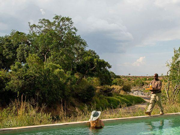 Elewana Sand River Masai Mara Pool