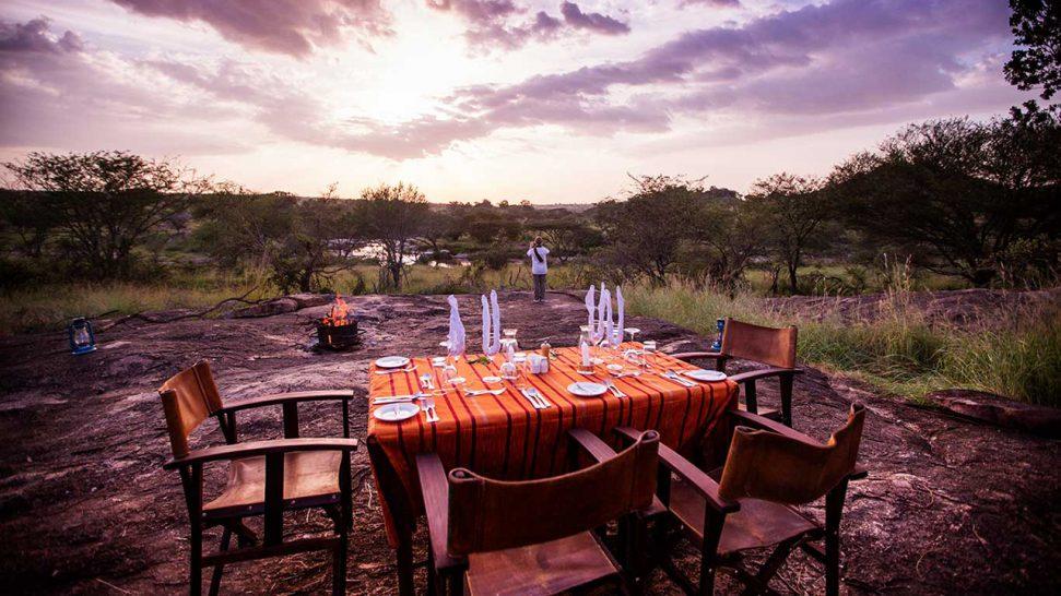 Elewana Serengeti Migration Camp Breakfast