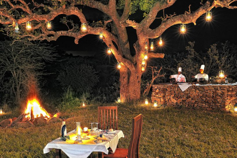 Elewana Serengeti Migration Camp Dinner