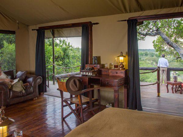 Elewana Serengeti Migration Camp Interior