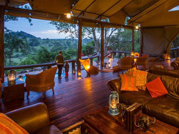 Elewana Serengeti Migration Camp Lobby Interior View