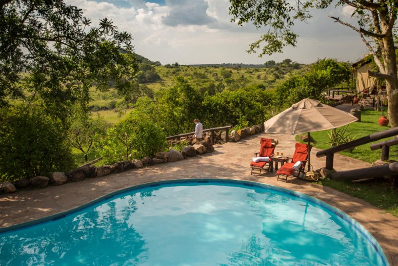 Elewana Serengeti Migration Camp Pool