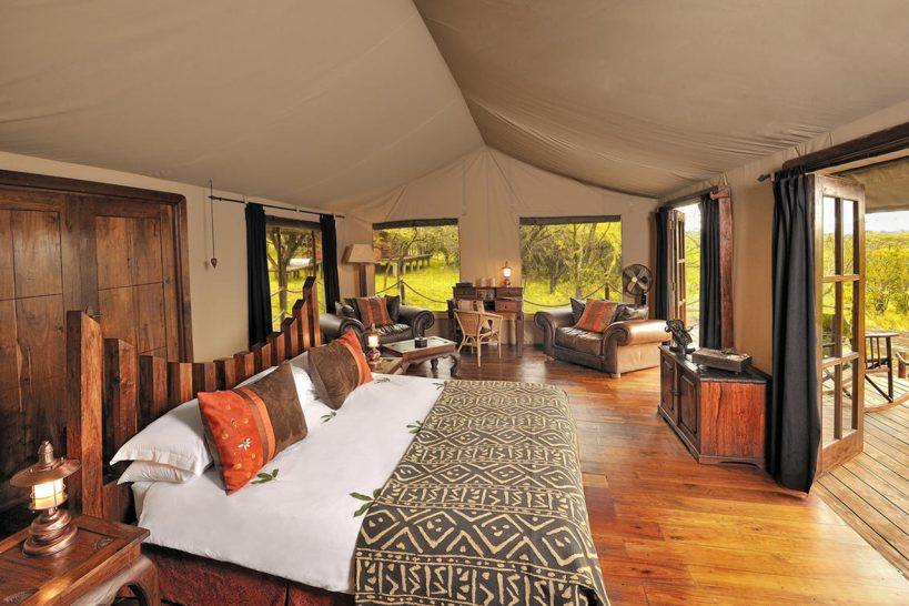 Elewana Serengeti Migration Camp Safari Tent