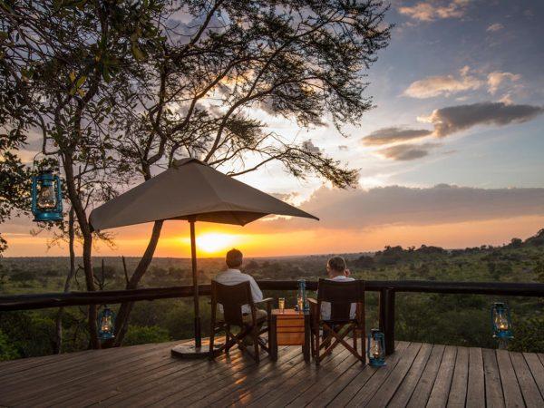 Elewana Serengeti Migration Camp View
