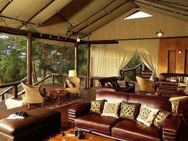 Elewana Serengeti Migration Camp lounge