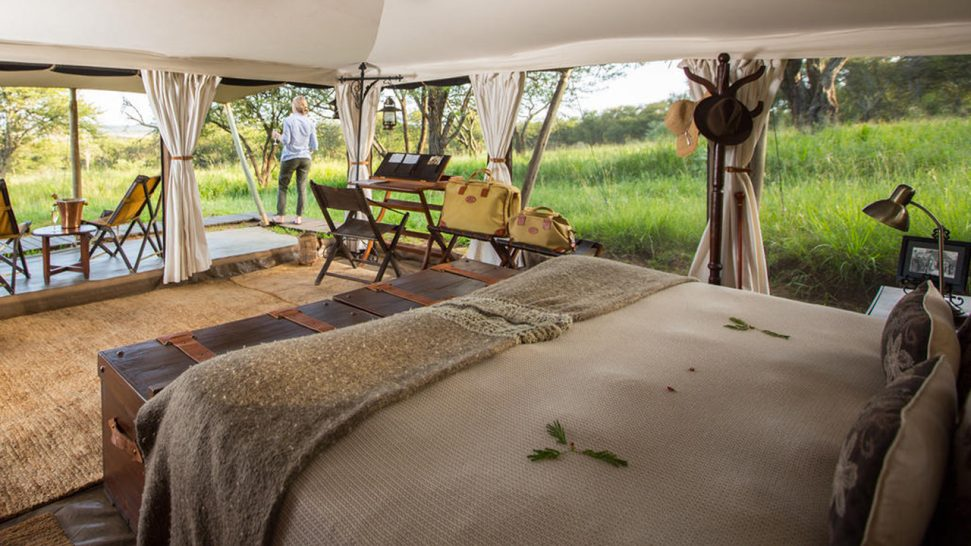 Elewana Serengeti Pioneer Camp Ensuite Luxury Safari Tents