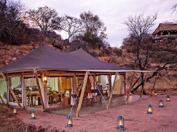Elewana Serengeti Pioneer Camp Exterior