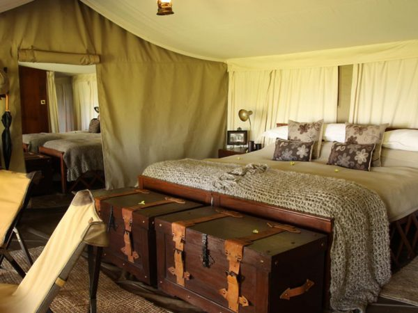 Elewana Serengeti Pioneer Camp Family Ensuite Tent