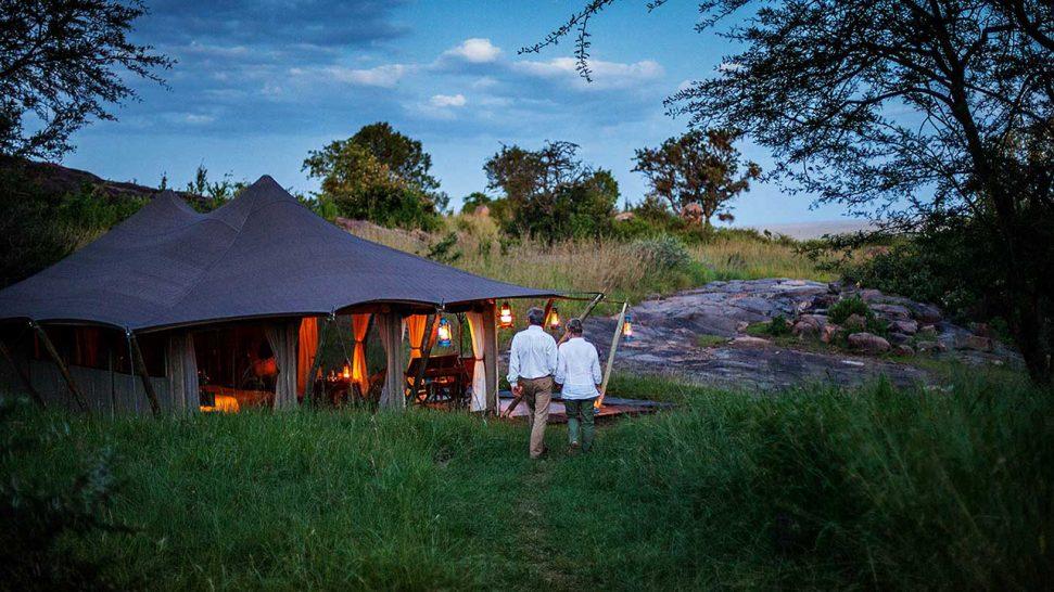 Elewana Serengeti Pioneer Camp Lobby