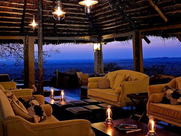 Elewana Serengeti Pioneer Camp Lobby View