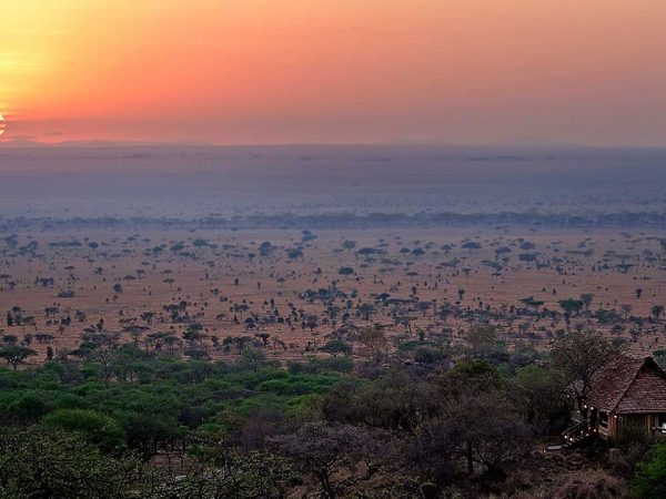 Elewana Serengeti Pioneer Camp Sunset View