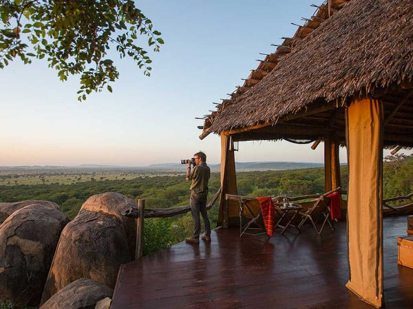 Elewana Serengeti Pioneer Camp View