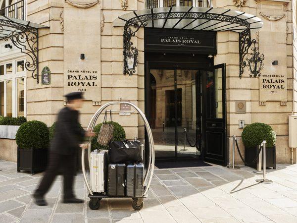 Grand Hotel du Palais Royal Lobby