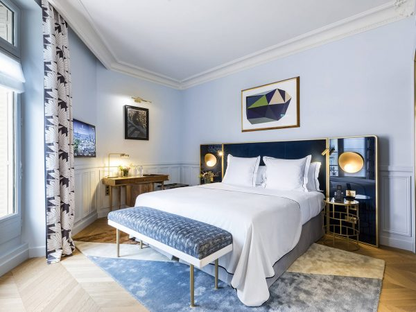 Grand Powers Hotel Paris Deluxe Room