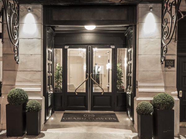 Grand Powers Hotel Paris -Lobby Night View