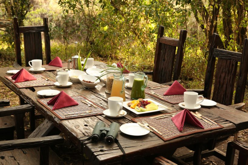 Great Plains Conservation Mara Expedition Breakfast