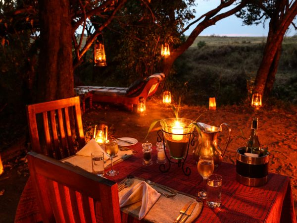 Great Plains Conservation Mara Expedition Private Dinner