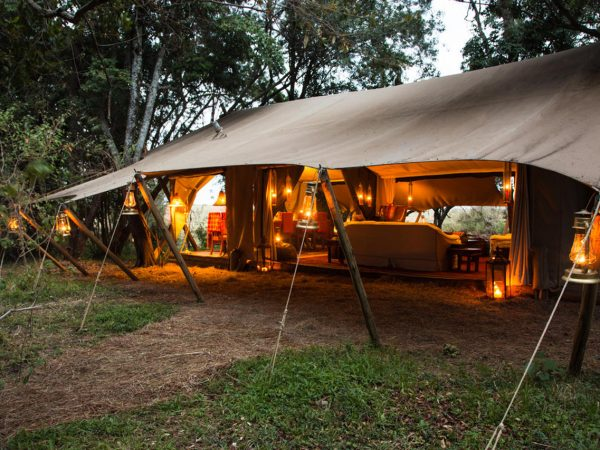 Great Plains Conservation Mara Expedition Tent View
