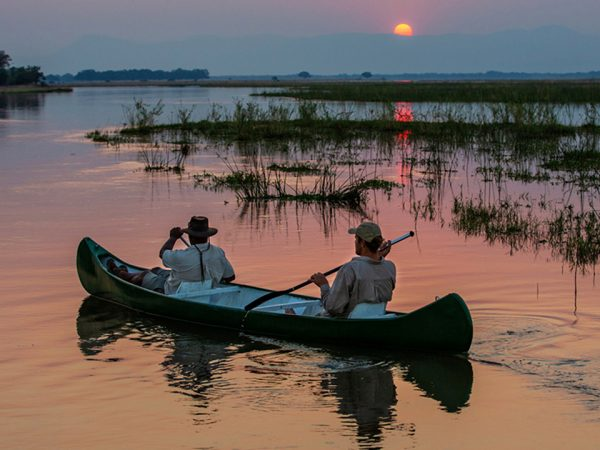 Great Plains Conservation Sapi Explorers Camp Canoeing