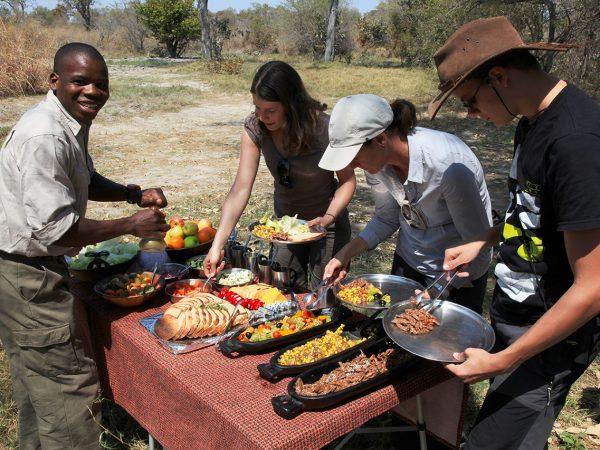 Great Plains Conservation Selinda Adventure Trail Breakfast