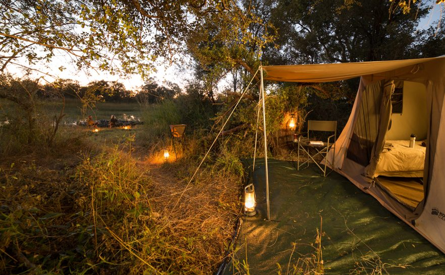 Great Plains Conservation Selinda Adventure Trail Canvas tents