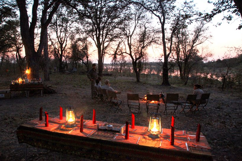 Great Plains Conservation Selinda Adventure Trail Dining
