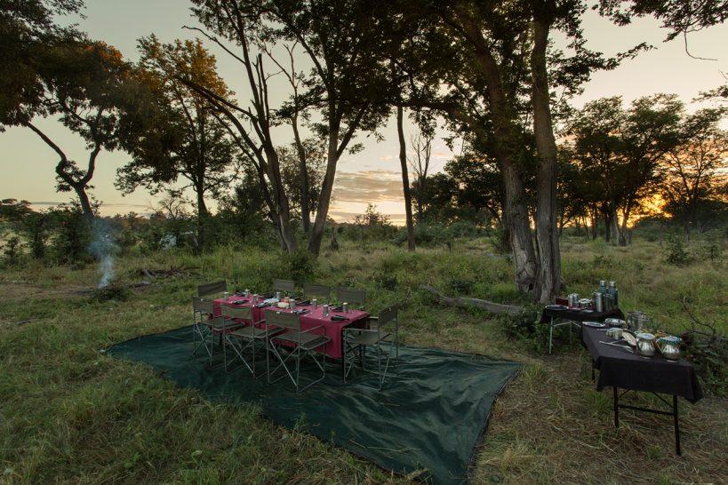 Great Plains Conservation Selinda Adventure Trail Dinner