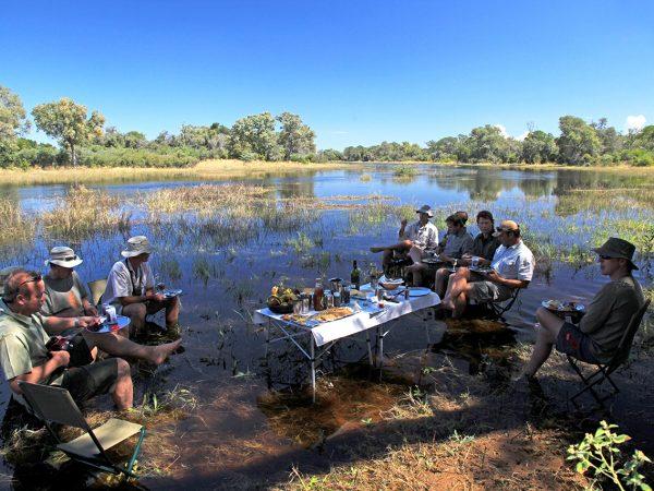 Great Plains Conservation Selinda Adventure Trail Food Dining