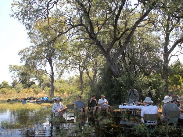 Great Plains Conservation Selinda Adventure Trail Outside Dining