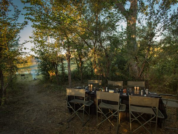 Great Plains Conservation Selinda Adventure Trail Private Dinner