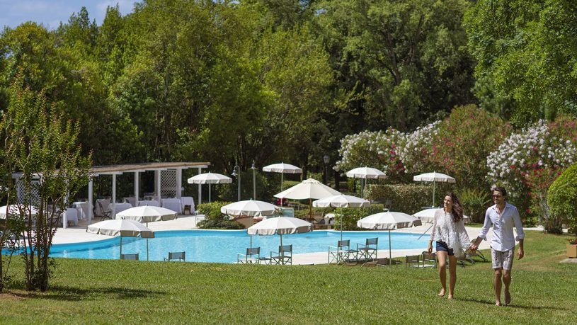 Grotta Giusti Tuscany Garden Pool