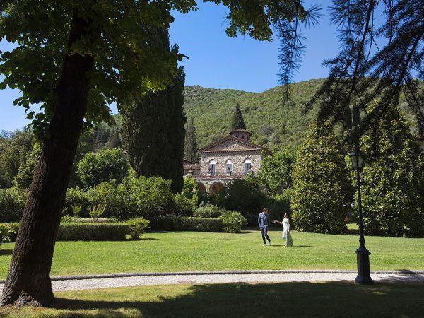 Grotta Giusti Tuscany Lobby Garden