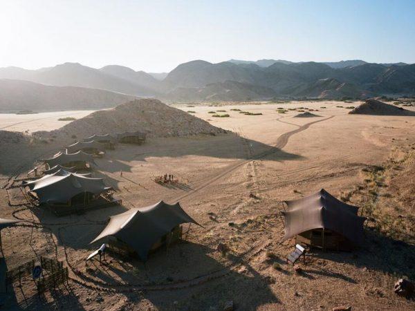 Hoanib Valley Camp Lobby View