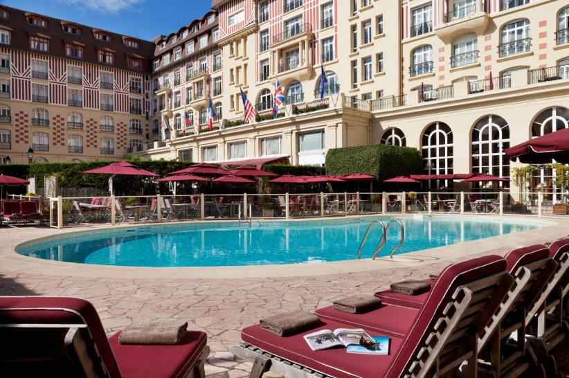 Hotel Barriere Le Royal Deauville Pool