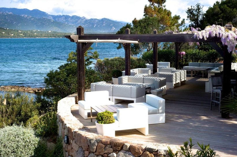 Hotel Casadelmar Porto Vecchio Outdoor Lounge