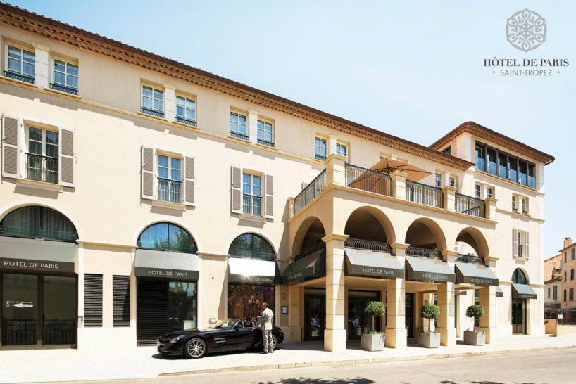 Hotel De Paris Saint Tropez HOtel View