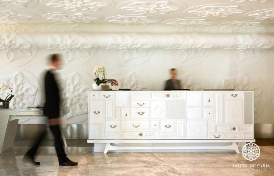 Hotel De Paris Saint Tropez Lobby