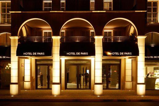Hotel De Paris Saint Tropez Night View