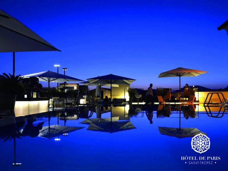 Hotel De Paris Saint Tropez Pool