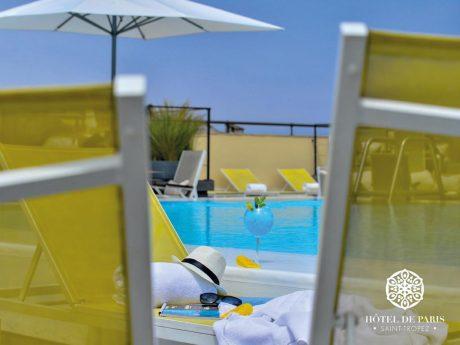 Hotel De Paris Saint Tropez Pool View
