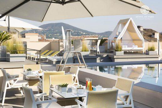 Hotel De Paris Saint Tropez View