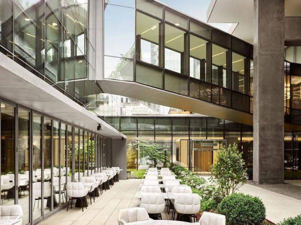 Hotel Fairmont Quasar Istanbul Exterior View