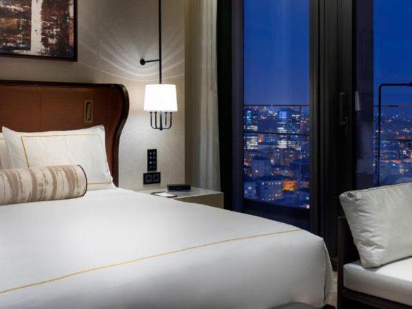 Hotel Fairmont Quasar Istanbul Fairmont City Skyline View Room